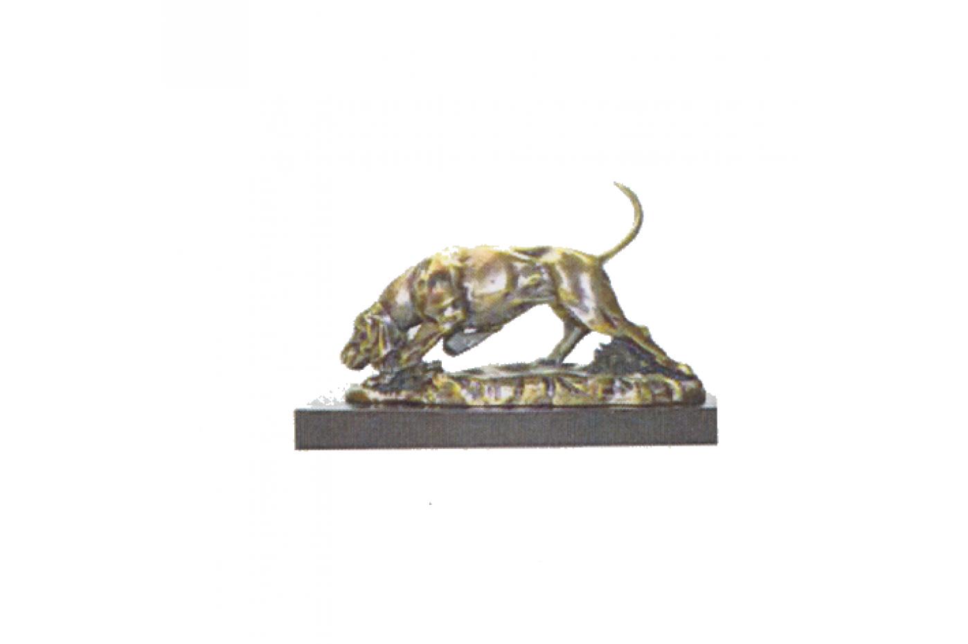 941019  75220 Figura Decorativa Perro Sabueso